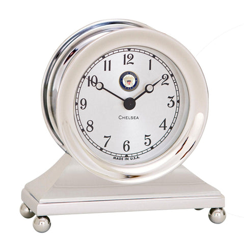 Chelsea U S Navy Constitution Clock, Nickel