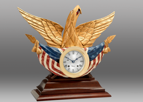 Chelsea Bellamy Eagle Limited Edition Clock
