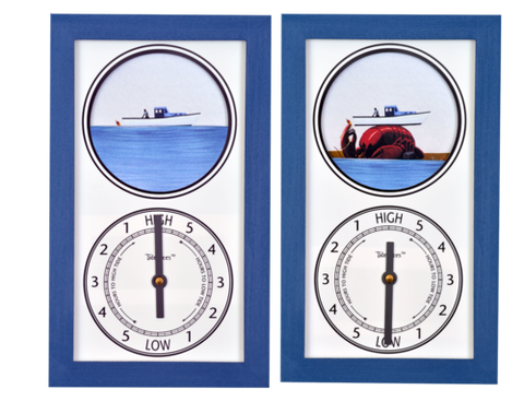 Tidepieces Lobster Boat Tide Clock - BellClocks.com