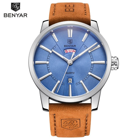 BENYAR Men's Fashion Calendar Quartz Watch BY5101M