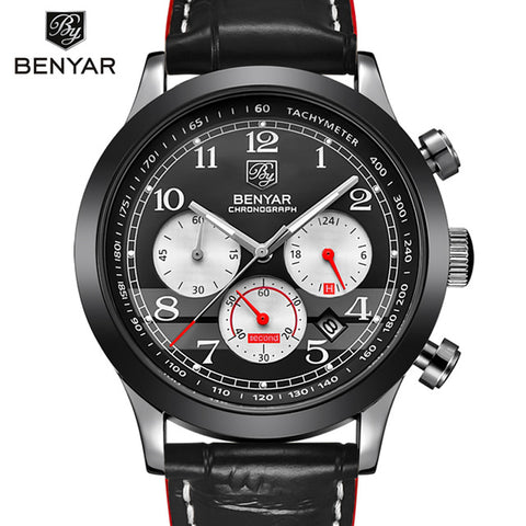 BENYAR Men's Chronograph Quartz Watch BY5107