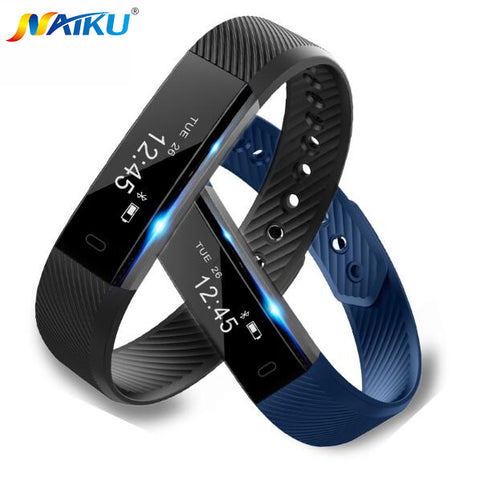 Naiku 115 fitbit Style Fitness Smartband, Cal, Pedometer, Distance, Activity Tracker, Sleep Tracker