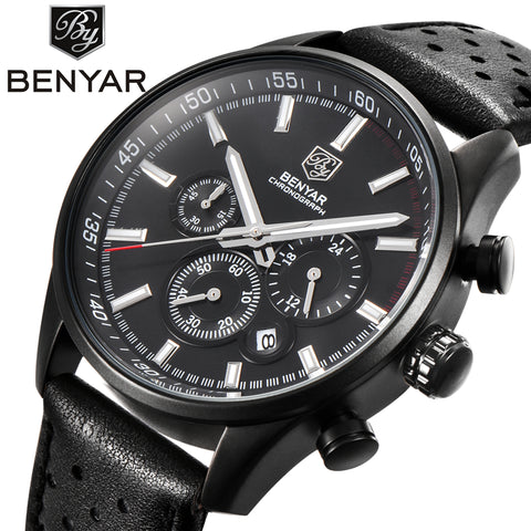 BENYAR Men's Dress Chronograph Watch BY5108M