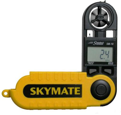 WeatherHawk Skymate SM-18 Wind Meter with Temp & Wind Chill - West NYC