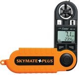 WeatherHawk Skymate Plus SM-19 Wind Meter with Humidity, Dew Point & Temp - BellClocks.com