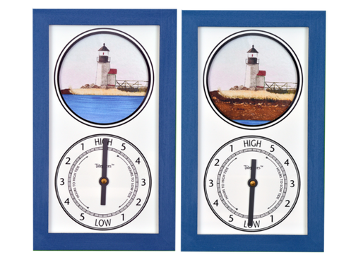 Tidepieces Brant Point Light Tide Clock - BellClocks.com
