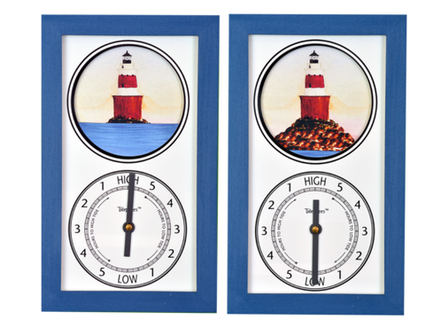 Tidepieces Peck's Ledge Light Tide Clock - BellClocks.com
