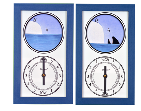 Tidepieces Penguins Tide Clock
