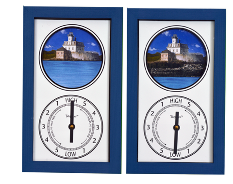 Tidepieces Rose Island Light Tide Clock - BellClocks.com