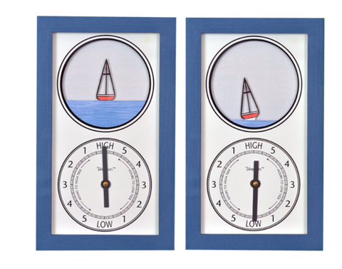 Tidepieces Sailboat Tide Clock - BellClocks.com