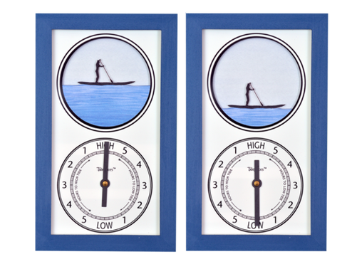 Tidepieces SUP Girl Tide Clock - BellClocks.com