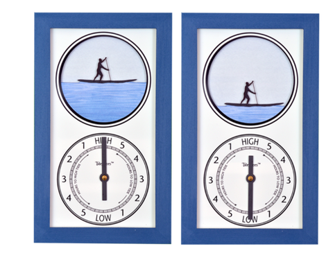 Tidepieces SUP Guy Tide Clock - BellClocks.com
