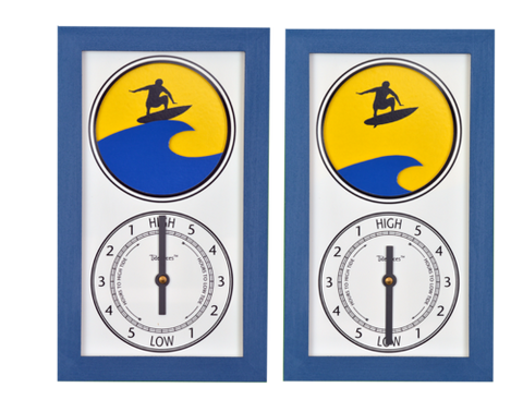 Tidepieces Surfer Tide Clock - BellClocks.com