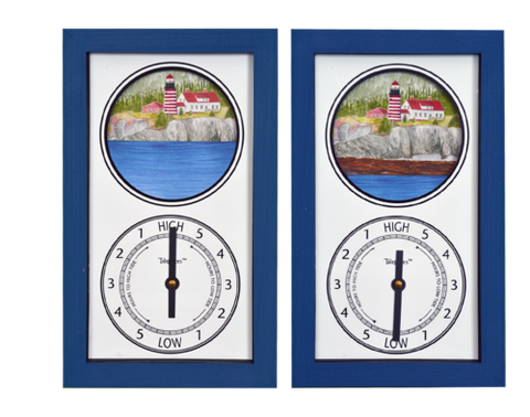 Tidepieces West Quoddy Head Light Tide Clock