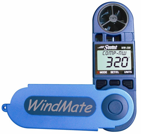 WeatherHawk WM-200 WindMate® Wind Direction & Digital Compass - BellClocks.com