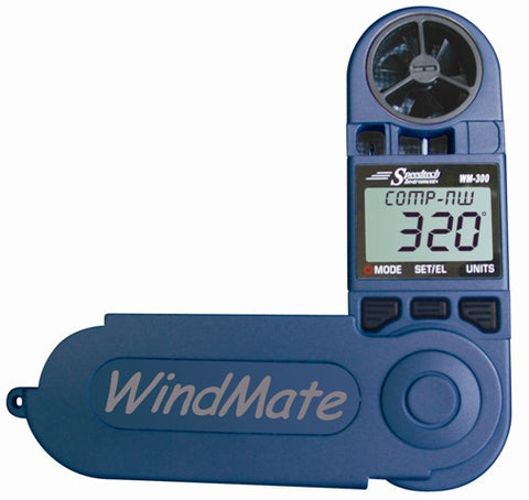 WeatherHawk WM-300 WindMate® Wind Direction, Digital Compass, Humidity - BellClocks.com