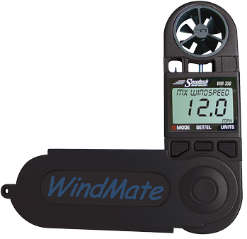 WeatherHawk WM-350 WindMate® Multi Function Weather Meter - BellClocks.com