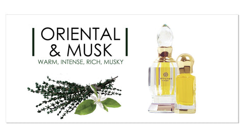 Oriental and Musk Perfumes