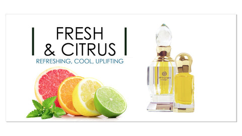 Fresh and Citrus Perfumes