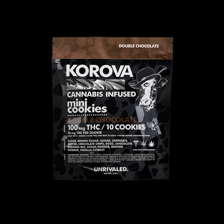 Korova / Double Chocolate Chip Mini Cookies