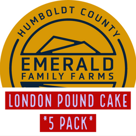 E.F.F / London Pound cake (5 Pack)
