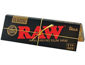Raw Papers Black