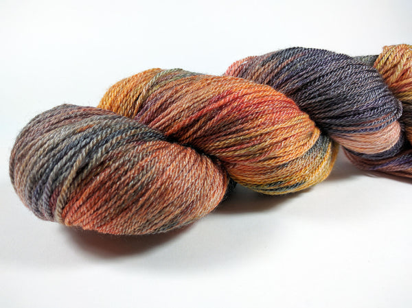50/50 ~ Superwash Merino / Tencel ~ Sock Weight ~ 412 yards / 4oz ~ 7 colorways