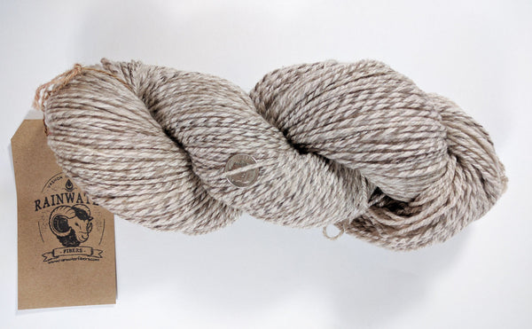 Natural Colors - fingering weight - Big Skein - Handspun ~ Romeldale ~ Merino ~ Cormo ~Wool Yarn
