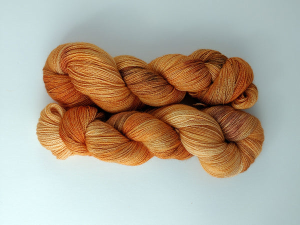 Baby Alpaca & Silk ~ 70/30 ~ Lace Weight ~ 100 grams ~ 650 yards ~ 2 colorways