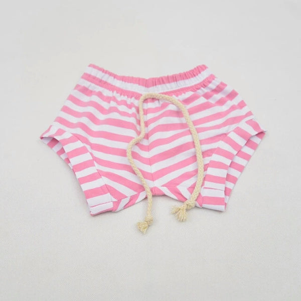 Stripe Shorts - Pink