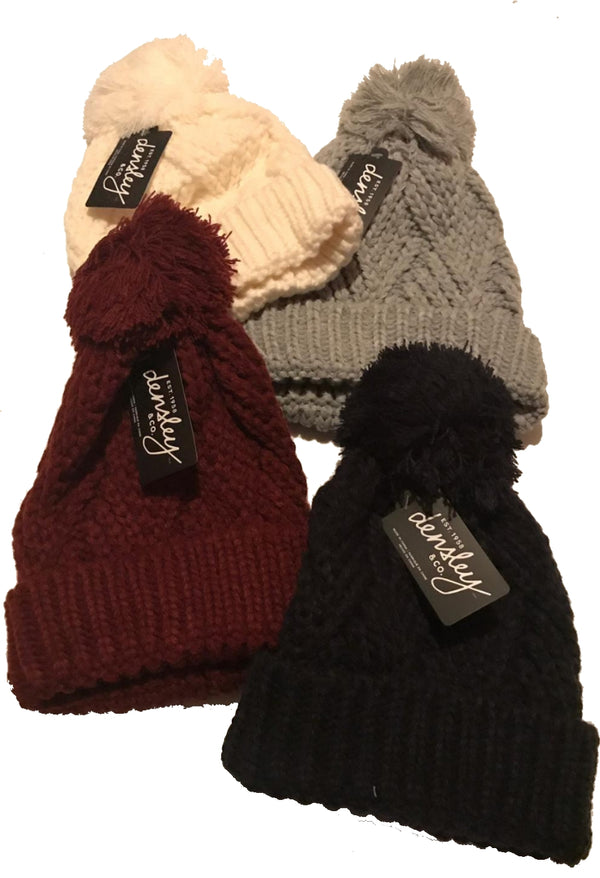 Ladies Cross Hatch Toque