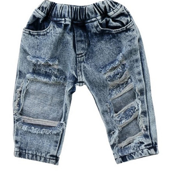 Kids Ripped Jeans