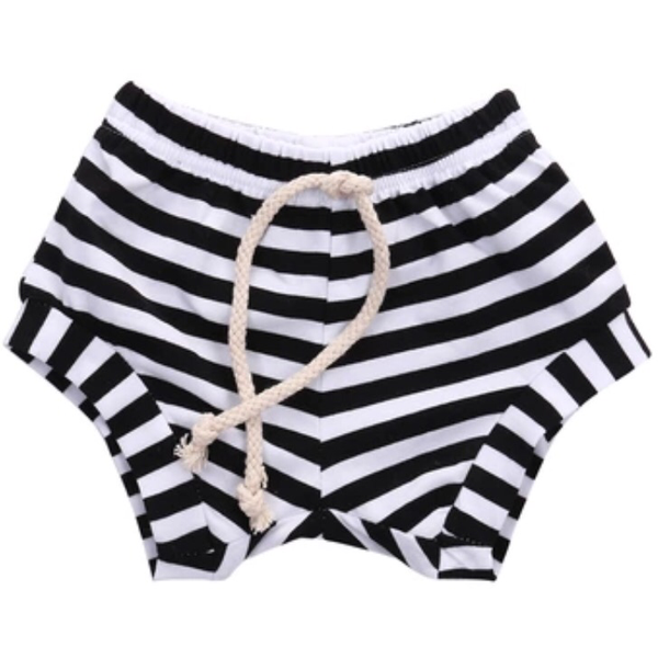 Stripe Shorts - Black
