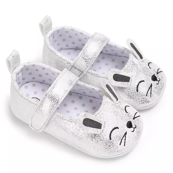 Hayley Baby Shoe - Gold & Silver