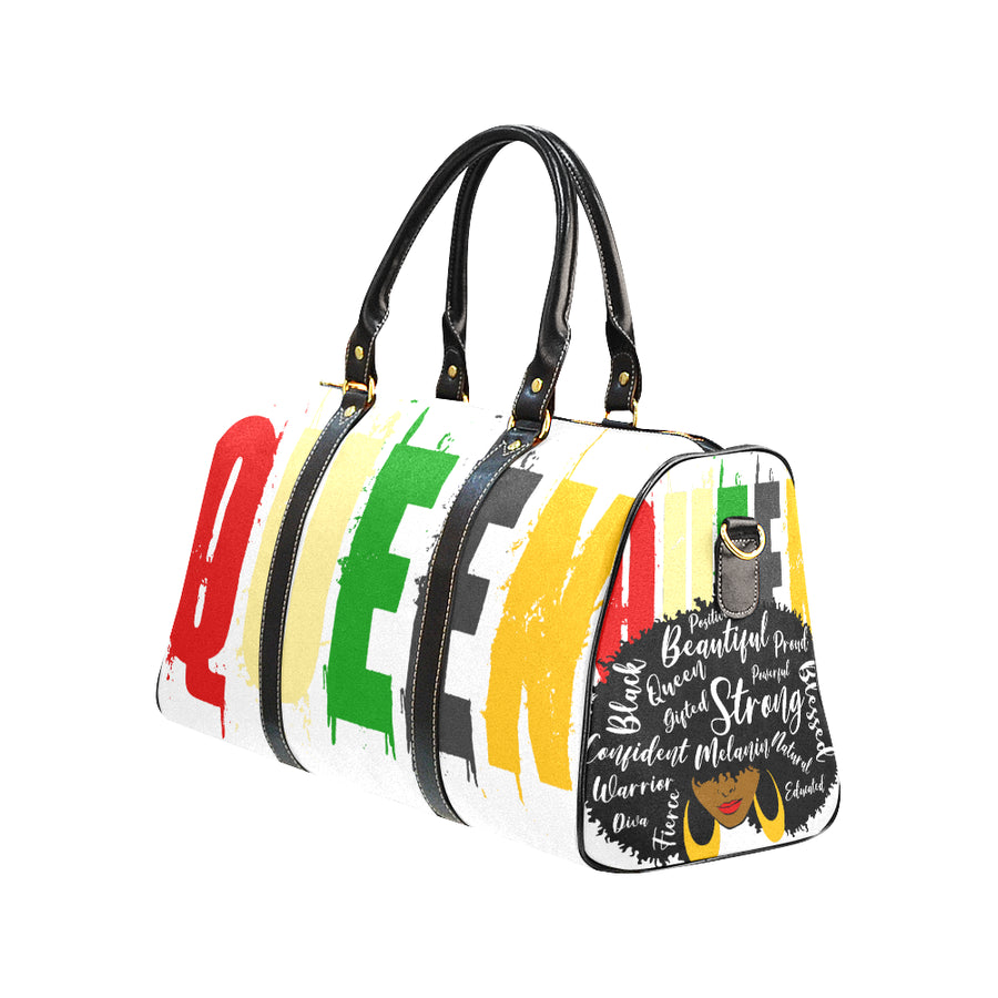 Colorful Queen Travel Bag