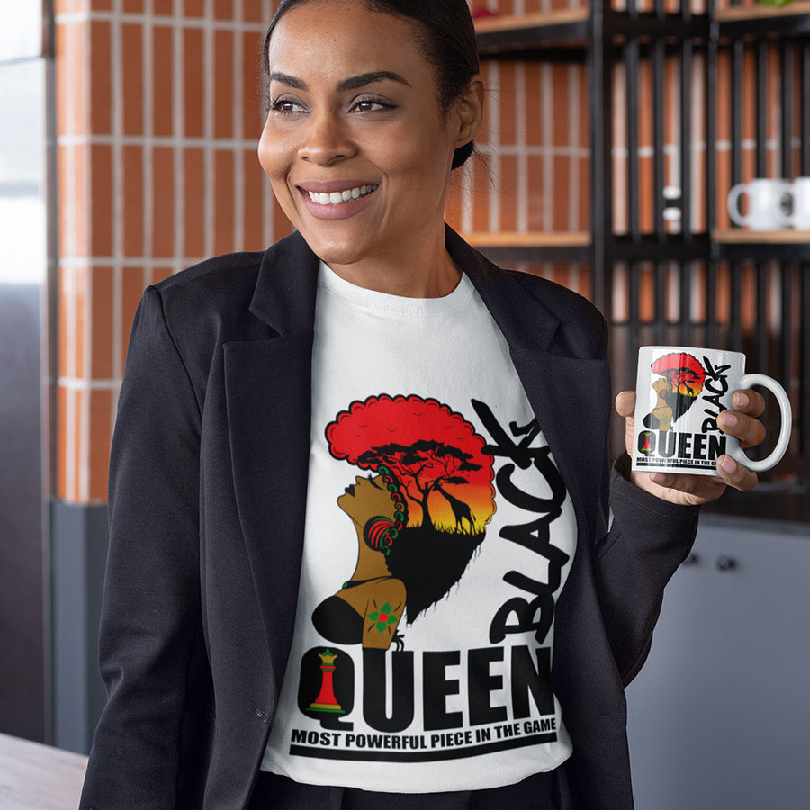 Black Queen Most Powerful Piece TShirt
