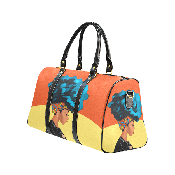 BluFroQueen Travel Bag - Sunrise