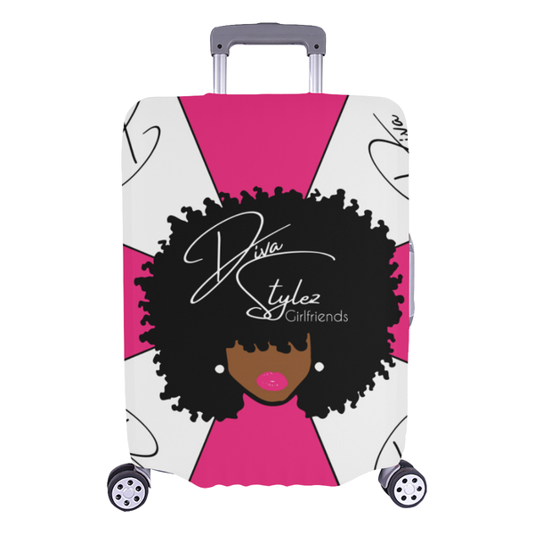 DivaStylez FroBeauty Luggage Cover