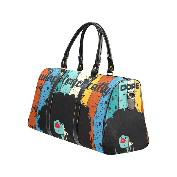 Unapologetically Dope Travel Bag -black