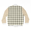 Gingham Bomber Jacket