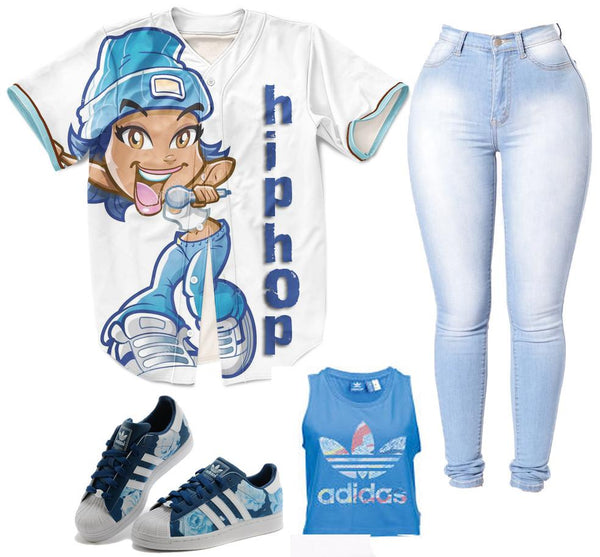 Hip Hop Girl Jersey