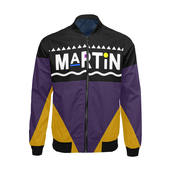 Martin Show 90s Jacket - Purple