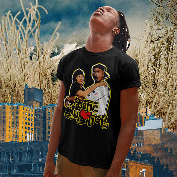 Poetic Justice TShirt - black