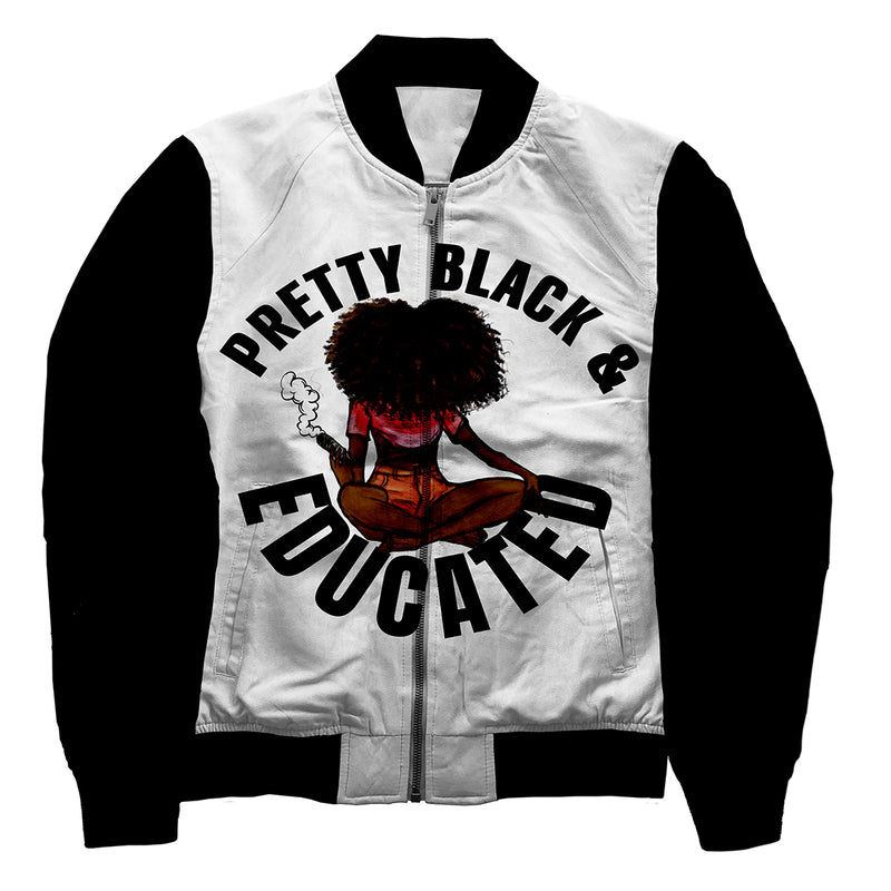 Pretty Black & Educated Jacket - ladies