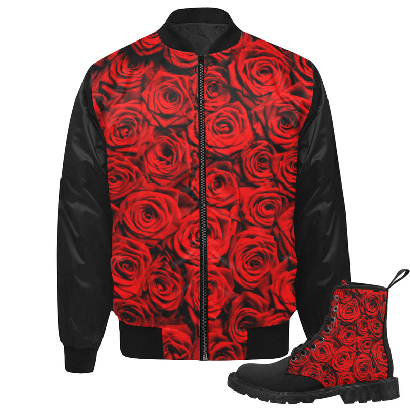 Red Roses Jkt & Boots Set