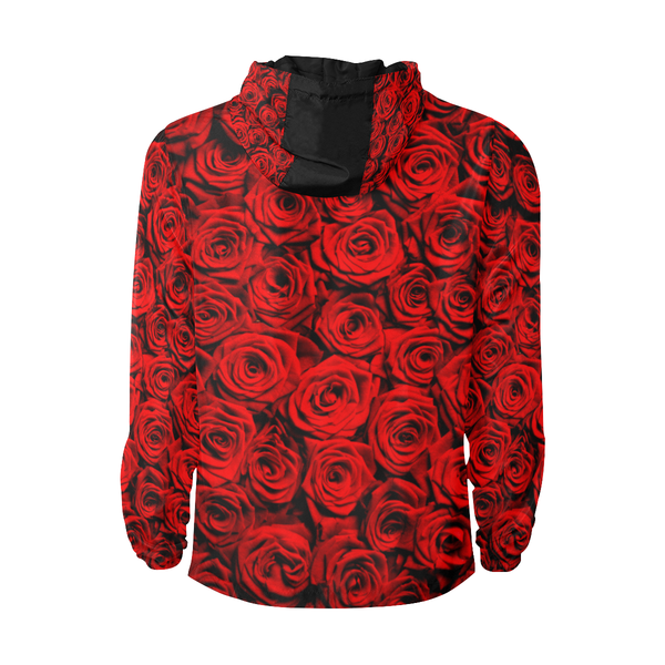 Red Roses Windbreaker