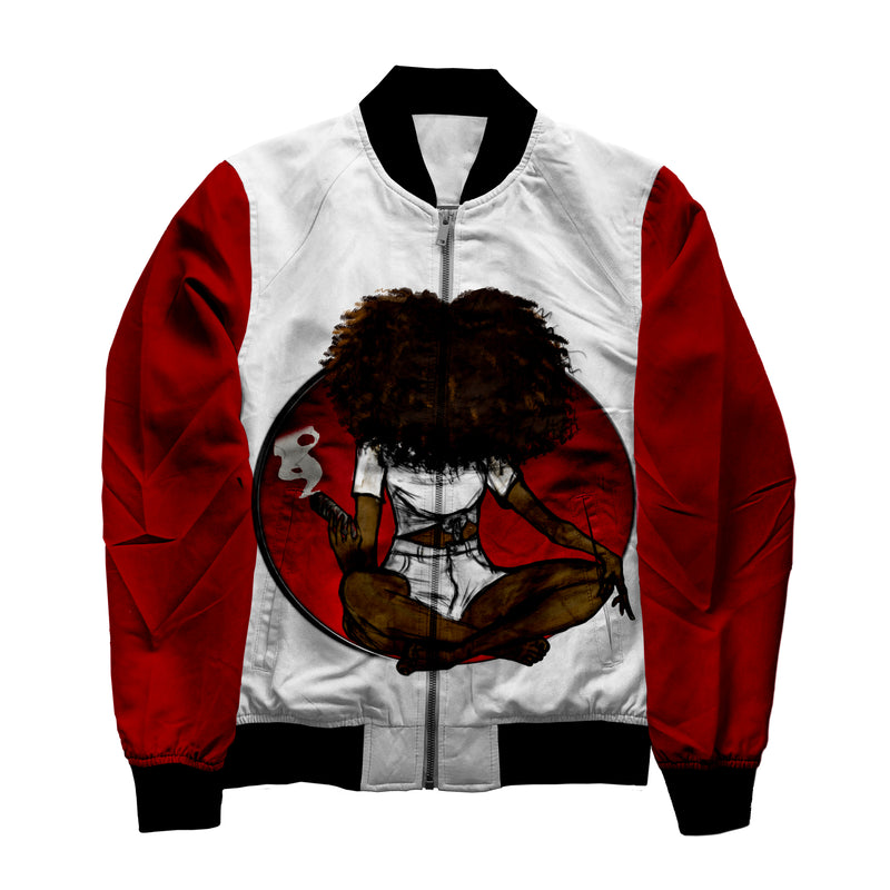 Sage the World Jacket - red