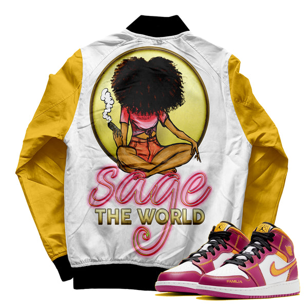 Sage the World Jacket - ladies