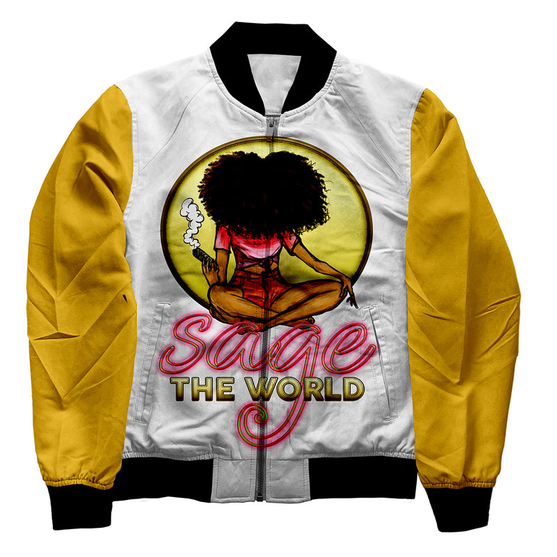 Sage the World Jacket - yellow