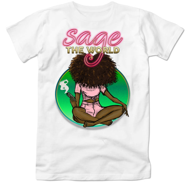 Sage the World TShirt - green